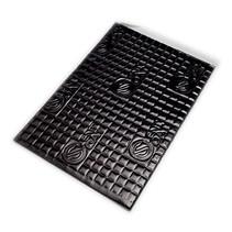1 m²     2 mm schwarz   Silent Coat   Alubutyl Dämmmatten Schalldämmmatten