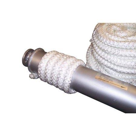 Heat Shieldings 12mm x 30m Glasvezel isolatiekoord hittebestendig tot 550 °C