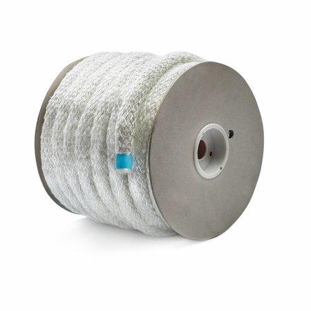 Heat Shieldings 15mm x 30m Glasvezel isolatiekoord hittebestendig tot 550 °C