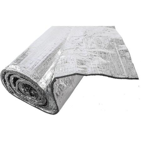 Heat Shieldings 2,2  m²   6 mm   Vilt Thermisch en geluidsisolerende  mat met dubbele reflectie laag