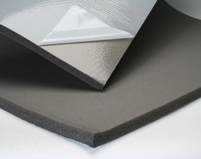 Foam sound insulation
