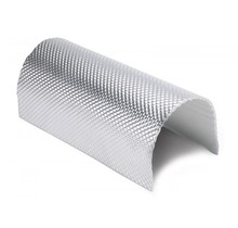 0.65 m² | 5mm | ARMOR Hittewerende mat glasvezel met stevige aluminium laag