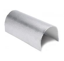 106 x 61 cm | 5mm | ARMOR Hitzebeständige Glasfasermatte mit starken Aluminiumschicht