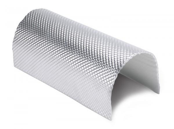 Heat Shieldings 0.65 m²   5mm   ARMOR Hittewerende mat glasvezel met stevige aluminium laag