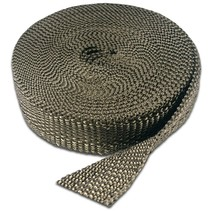 Carbon Exhaust Wrap  5cm x 15m