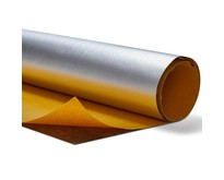 PU Adhesive Backed Heat Barrier Fiberglass with aluminum foil