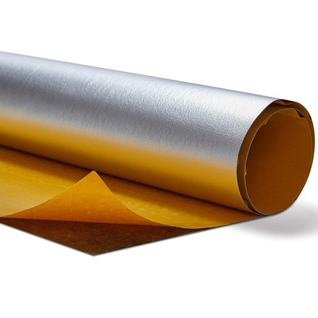 Heat Shieldings PU Adhesive Backed Heat Barrier Fiberglass with aluminum foil