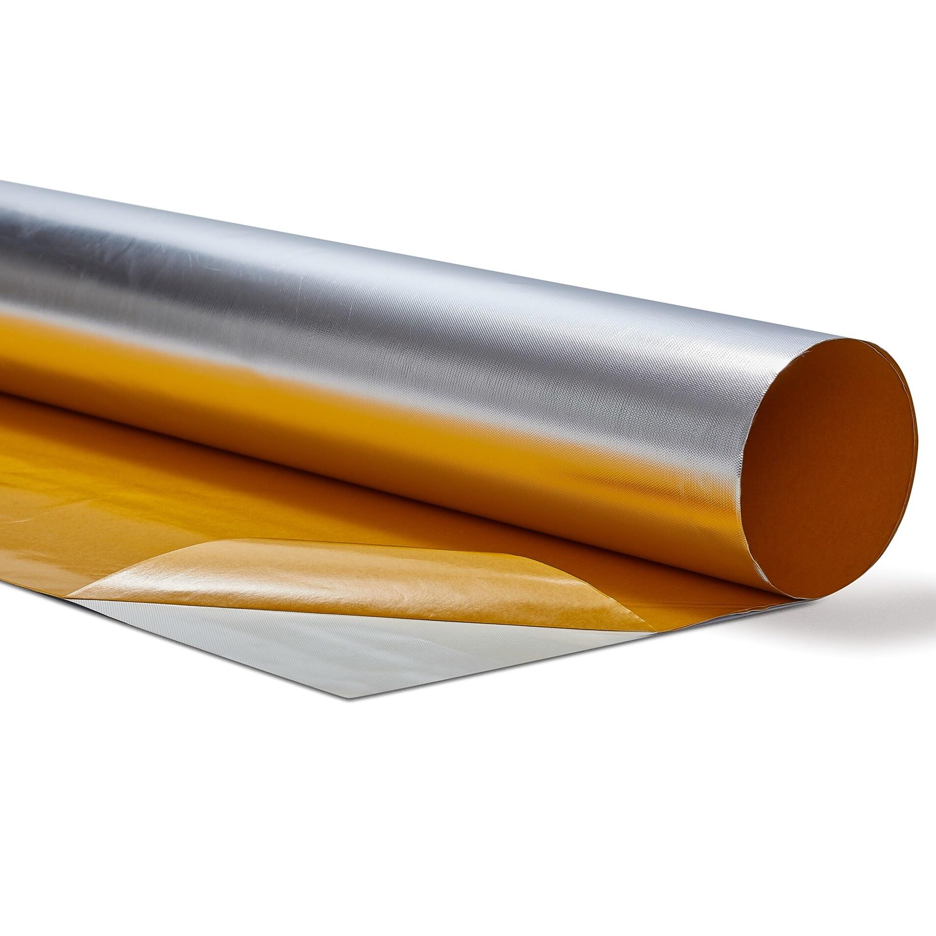Heat Shieldings 0.5 m²  | 0.3mm | Hitte reflecterende folie aluminium