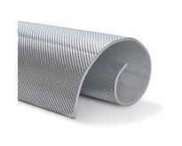 5mm   ARMOR selbstklebend   Hitzebeständiges mattes Glasfaserglas mit robuster Aluminiumschicht bis 950 ° C.