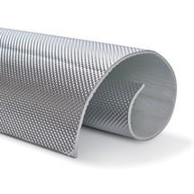 60 x 53 cm | 5 mm | ARMOR selbstklebend | Hitzebeständige matte Glasfaser mit einer starken Aluminiumschicht