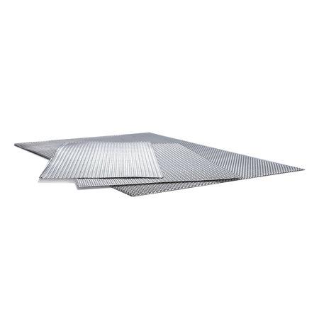 Heat Shieldings 610 x 320 Hitzebeständig Platte Doppel geprägt