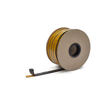 20mm x 4mm x 25m Heat-resistant seal with self-adhesive layer  | Stove rope