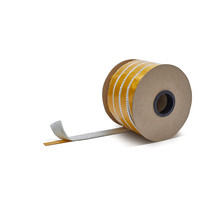 20mm x 2.5mm x 50m Heat-resistant seal with self-adhesive layer | Stove rope