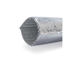 Heat reflective thermal insulation sleeve up to 200 °C  30 mm