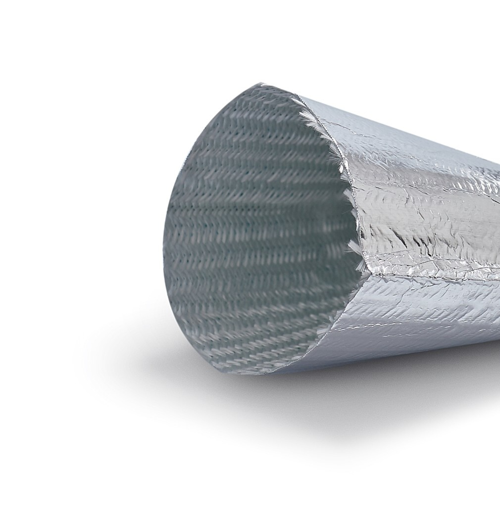 Heat Shieldings Heat reflective thermal insulation sleeve up to 200 °C  50 mm