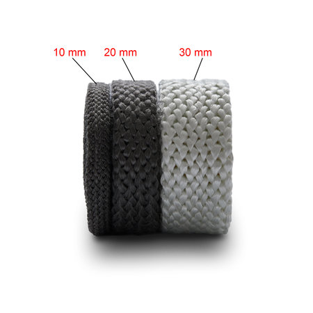 Heat Shieldings 20mm x 4mm x 1m Heat-resistant seal with self-adhesive layer