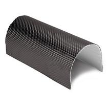 0,65 m² | 5 mm | ARMOR zelfklevend ZWART| Hittewerende mat glasvezel met stevige aluminium laag