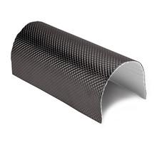 121 x 53 cm | 5 mm | ARMOR selbstklebend | Hitzebeständiges mattes Glasfaserglas mit robuster Aluminiumschicht bis 950 ° C.