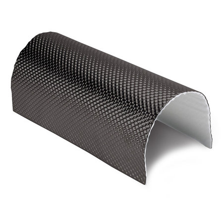 Heat Shieldings 0.65 m² | 5 mm | ARMOR self-adhesive | Heat-resistant matt fiberglass with sturdy aluminum layer up to 950 ° C