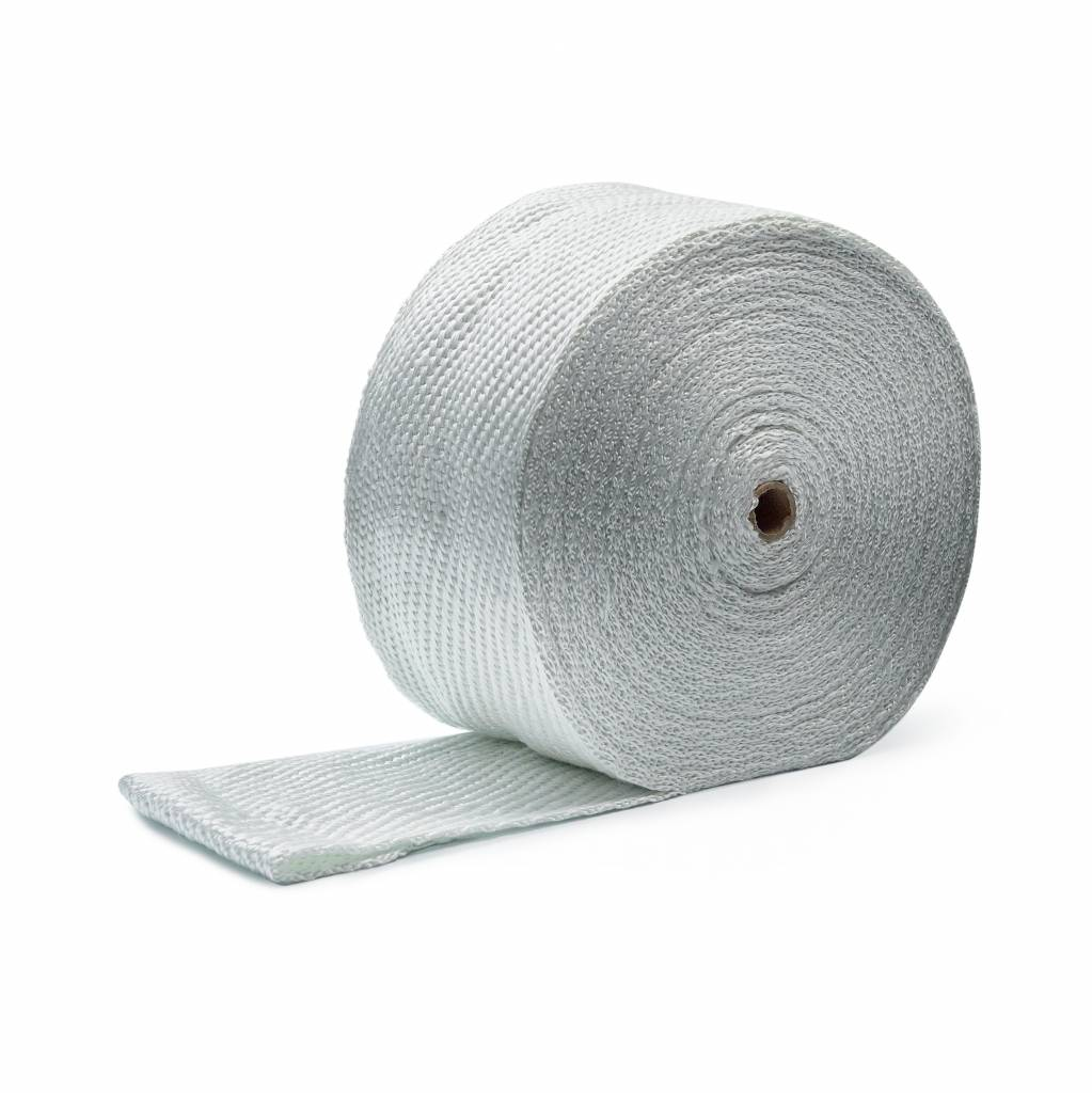 Heat Shieldings SALE Exhaust Wrap White 10 cm x 25 m x 3 mm MED approved  - Rest material