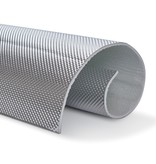 Heat Shieldings 0,65 m² | 5 mm | ARMOR self-adhesive | Heat-resistant matt fiberglass with sturdy aluminum layer up to 950 ° C