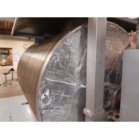 Heat Shieldings 1 m² | 5 mm | THERMO BLOCK heat-resistant fiberglass insulation mat up to 550 °C