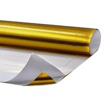 0.15 m² | Hitte reflecterende folie goud
