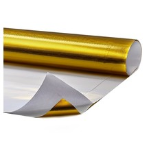 0.15 m² | Hitzebeständige goldene Folie 400 °C