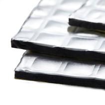 3.5 m² | 2mm zilver| Absor-B | Geluid en  warmte werend anti dreun - zelfklevend