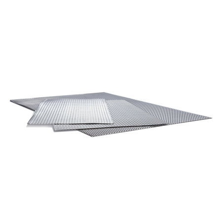 Heat Shieldings Heat-resistant and sound-absorbing aluminum plate  600 x 900
