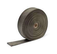 Titanium basaltvezel uitlaatband 10cm x 30m tot 800 °C