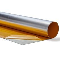 0.25 m² | 0.3mm | Hitte reflecterende folie aluminium