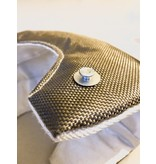 Heat Shieldings T3 Titanium turbo isolatiehoes voor verkoeling onder de motorkap - 975°C