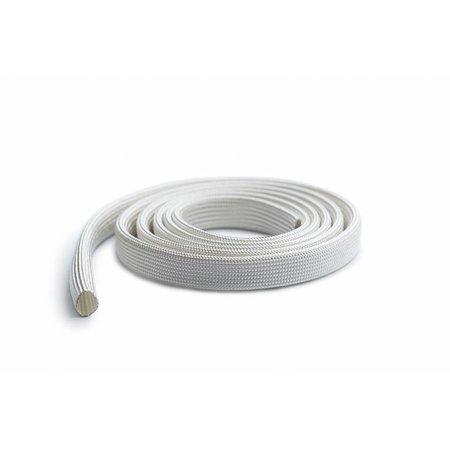 Heat Shieldings Flexibele, lichtgewicht en hittebestendige glasvezel hoes tot 550 °C (per meter) - 5 mm