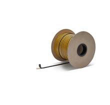 10mm x 3mm x 100m Hittebestendige afdichting  met zelfklevende laag  - Kachelkoord plat