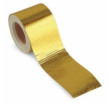 3.8cm x 9m Heat Reflective Tape Gold 450 °C