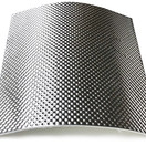25 x 25 cm | 5 mm | ARMOR self-adhesive | Heat-resistant matt fiberglass with sturdy aluminum layer