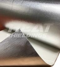 100 x 95 cm  | 1 mm |  BASIC Hitzeschutz FiberglasSelbstklebender