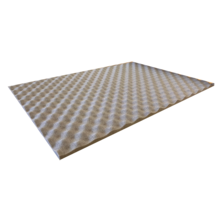 50 x 75 cm | 15 mm | Noise and thermal isolation sheet - Adhesive