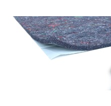 17 x 25 cm   12 mm   Thermal and sound felt insulation with self-adhesive layer