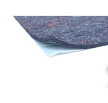 17 x 25 cm   12 mm   Thermisch en Akoestisch vilt geluidsisolatie met zelfklevende laag