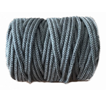 ø 8 mm x 100 m Heat resistant rope black | Stove rope round