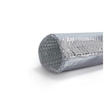 Heat reflective thermal insulation sleeve up to 200 °C ø 18 mm x 50 m