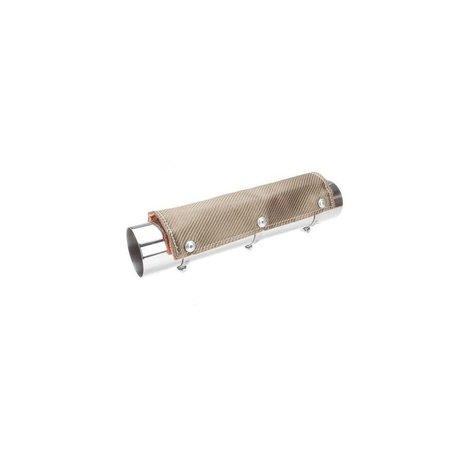 DEI Exhaust heat shield titanium