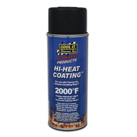Thermo-Tec Thermo Tec Hi Heat resistant paint black 815℃