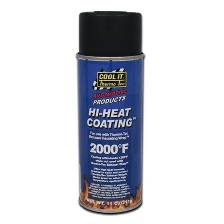 Thermo-Tec Thermo Tec Hitzebeständige Farbe schwarz 815 ℃