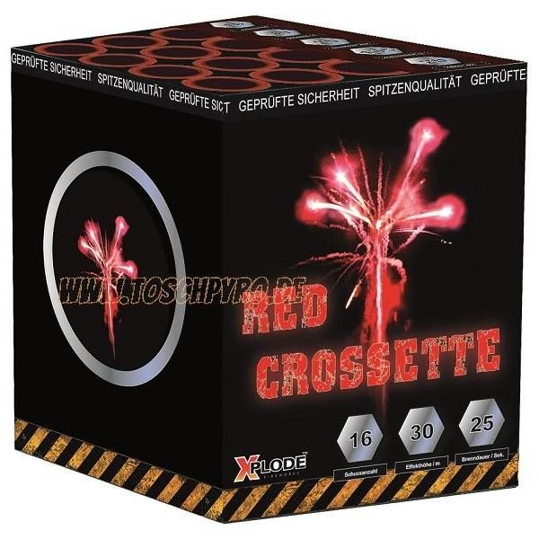 Crosettebatterie Rot