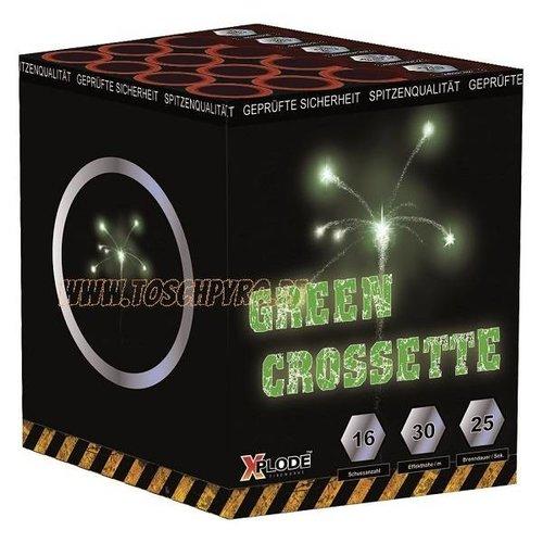 Xplode Crosettebatterie Grün