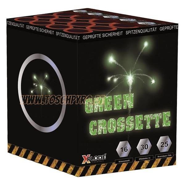 Crosettebatterie Grün