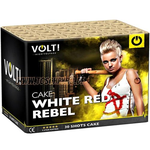 VOLT! High Voltage White Red Rebel
